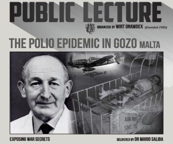The Polio Epidemic in Gozo: A public lecture by Dr Mario Saliba