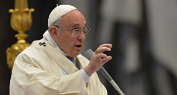 Indifference, is the key theme of the Pope's Message for Lent 2015