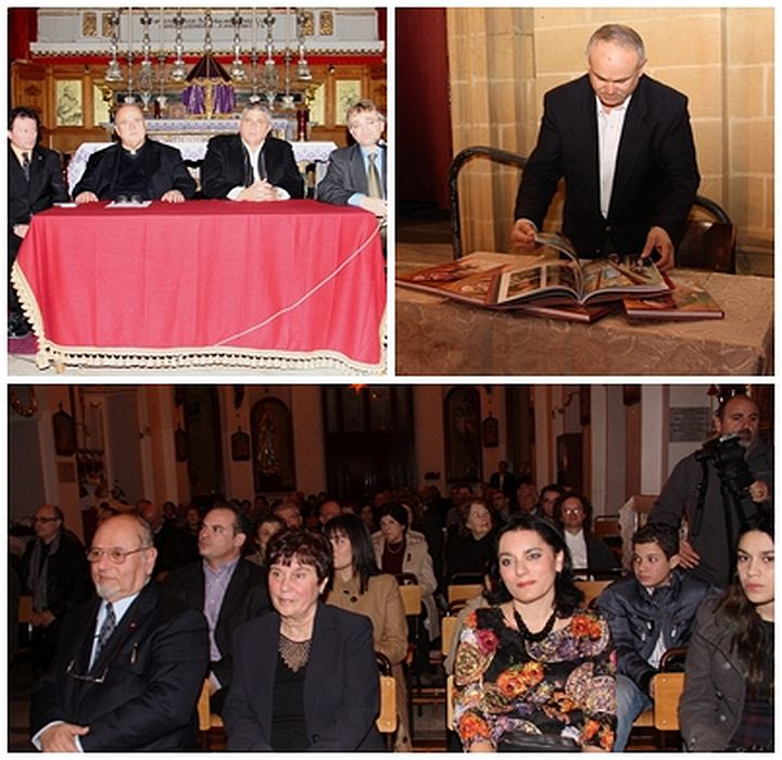 The Academic Colorista, Paul Camilleri Cauchi: Book launch held in Gozo