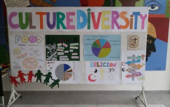 Gozo College Boy's Secondary hold exhibition on culture diversity