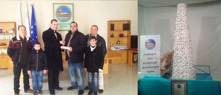 €2027 raised for Arka Foundation from sale of 600kg Prinjolata
