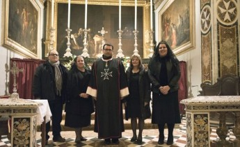 Order of Malta Volunteers in Gozo Director makes Promise of Obedience