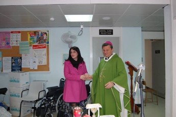Gozo Diocese donates € 5,200 for equipment at Gozo General Hospital