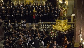 Gaulitanus Choir participate in a sacred music concert in Rabat