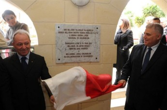 'Ghajn tal-Hasselin' inaugurated in Apparition Square, Ghajnsielem