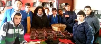 Gozo College Boy's Secondary students visit Ta' Dbiegi Crafts Village