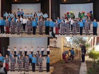 Arbor Day, Catch the Drop Campaign & Celebration Day at Kercem Primary