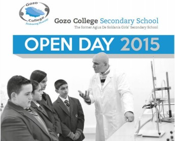 Open Day events at the Gozo College Secondary School in Victoria