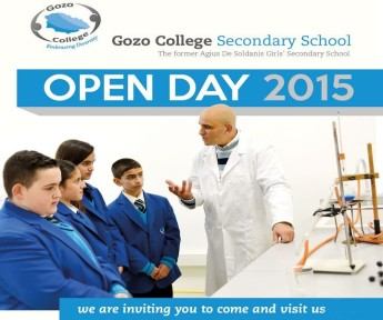 Open Day at Gozo College Secondary School for GC students & parents