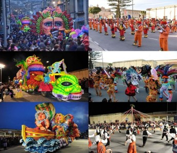 Gozo Regional Carnival with dance, music, costumes & a riot of colour