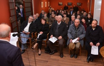Dun Gorg Mercieca honoured in literary evening held in Gozo