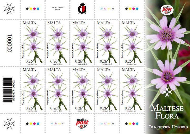Second set of Maltese Flora Philatelic Stamp to be issued on Saturday