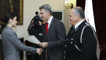 29 new inspectors appointed within the Police Force, 3 were new members
