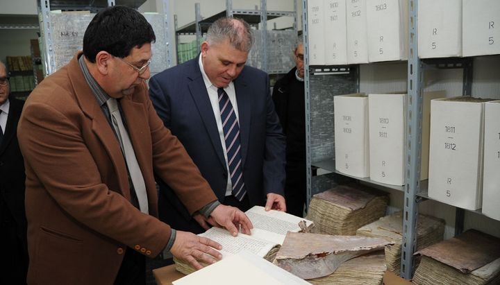 Notarial Deeds dating back 400 years undergoing restoration in Gozo