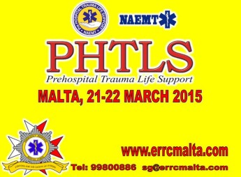 Prehospital Trauma Life Support Course with the ERRC Gozo in March