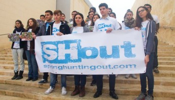 Maltese youth take an active stand on spring hunting referendum