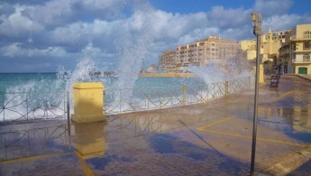 January in Malta & Gozo was windier & drier than average