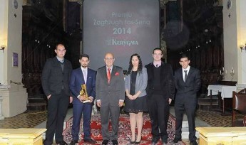 Franco Cefai of Zebbug Gozo, is a finalist for 'Youth of the Year 2014'