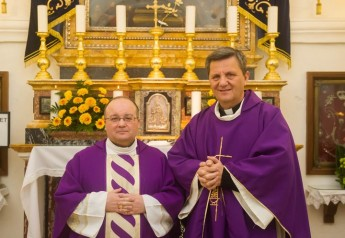 Archbishop-elect Mgr Charles J. Scicluna celebrates Mass at Ta' Pinu