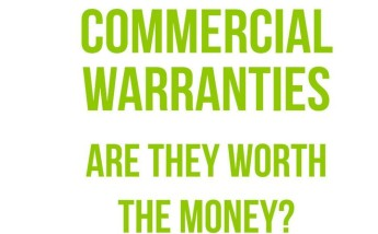 Commercial Warranties, are they worth the money? - European Study