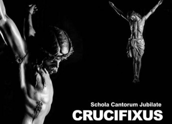 Crucifixus: Schola Cantorum Jubilate concert of art, music & literature on TVM
