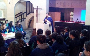 Day of Recollection for students at Bishop's Conservatory Secondary School