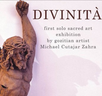 Divinità: First solo Sacred Art Exhibition by Michael Cutajar Zahra