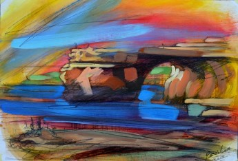 George Scicluna 'On A3' -  Gozo exhibition of paintings & sketches