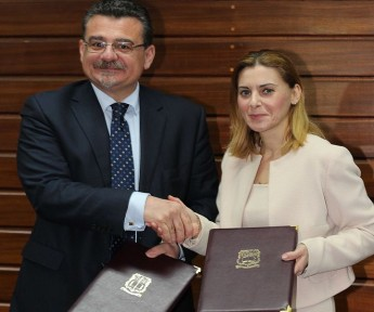 University and Parliamentary Secretary sign ESF Project Partnership