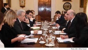 EU Commissioner in discussions on the migration scenario in Malta