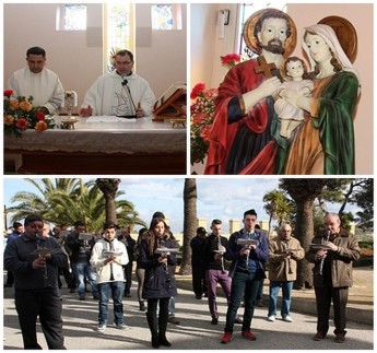 Feast of the Holy Family commemorated at Ta' l-Ibragg Hospital