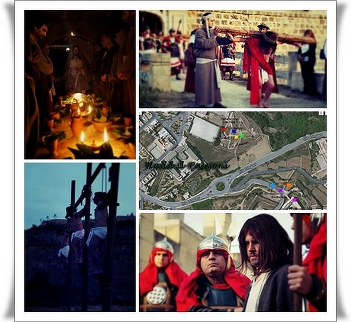 Programme of Holy Week Activities taking place in Ghajnsielem, Gozo