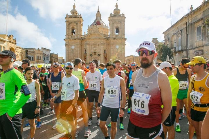 40th edition of the Gozo Half Marathon takes place this Sunday