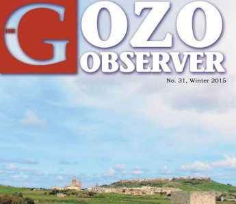 31st edition of the Gozo Observer for Winter published by Gozo Campus