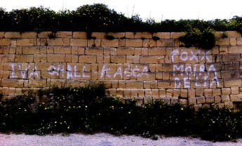 Statement on Gozo graffiti from SHout spokesperson Moira Delia
