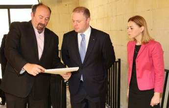 PM visits work on new residential home in Gozo for persons with disability