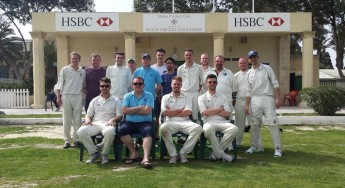 Marsa CC take on visitors team from Preston in Lancashire, Ingol CC