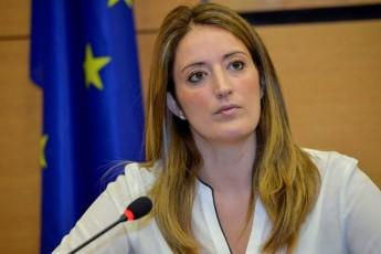 MEP Roberta Metsola spearheads an MEP debate on Libya