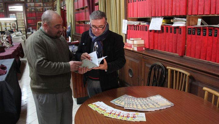Copies of Mela Darba- Legends from Gozo donated to Gozo public libraries