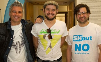Musicians launch the news SHout Campaign Song and Video