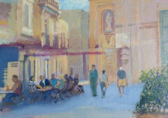 Exhibition of Gozitan Landscapes & other works by Michael Sanders