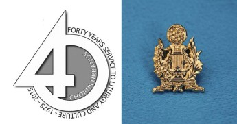 Chorus Urbanus launches official 40th anniversary logo & lapel badge
