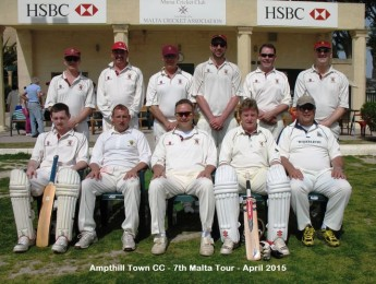 Marsa CC play against two touring teams in a busy week of cricket