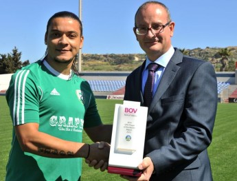 Thiago Melo dos Santos is the BOV GFA Player of the Month