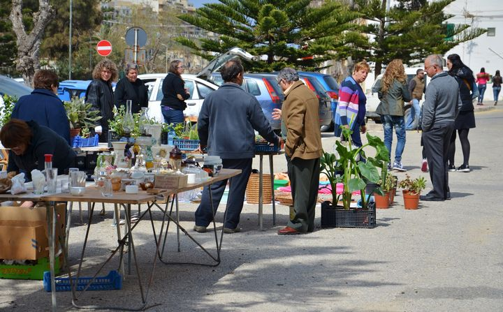 Arka Foundation Car Boot Sale in Marsalforn