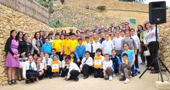 Gozo schools benefit from HSBC Water Programme - Catch the Drop Campaign
