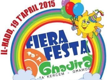 Fiera ta' l-Ghadira 31st edition taking place in Kercem, Gozo