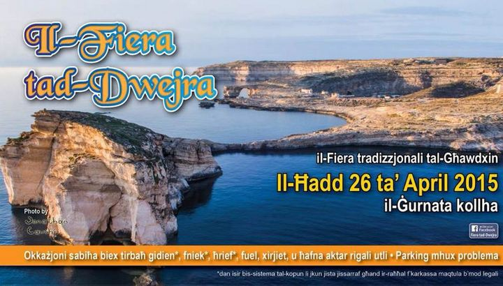 Il-Fiera tad-Dwejra: Fun for all the family being held this coming Sunday