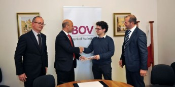 Bank of Valletta renews its support to the Gozo University Group