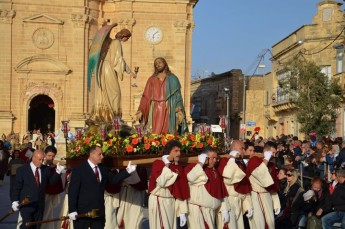 The Good Friday Procession and Pageant held in Xaghra
